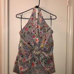 Zara backless halter top.  NWOT